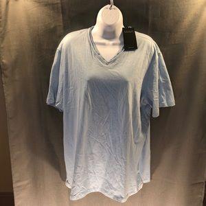 Robert Barakett SS V-neck Tee Shirt, size XXL